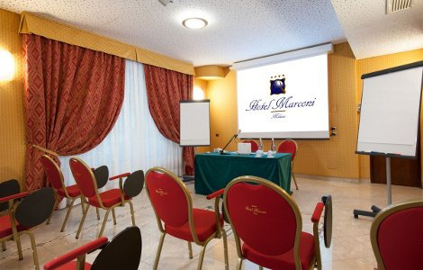 Meeting Room Hotel Marconi Milan