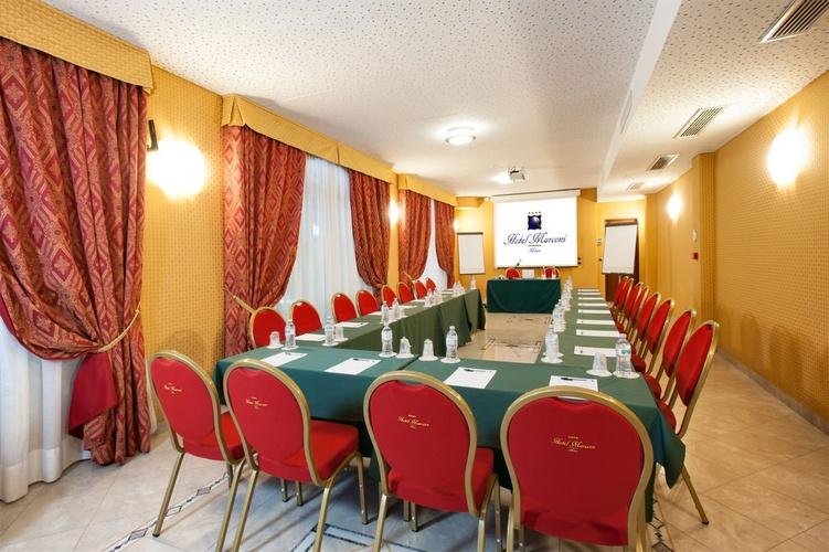 Meeting room Marconi Hotel Milan