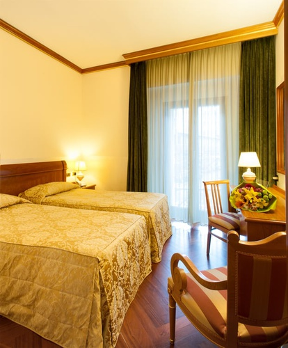 Superior twin room Marconi Hotel Milan